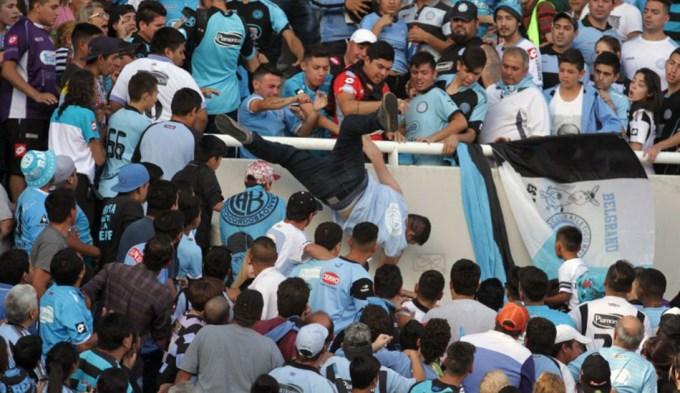 Belgrano echó del club a los agresores de Emanuel Balbo