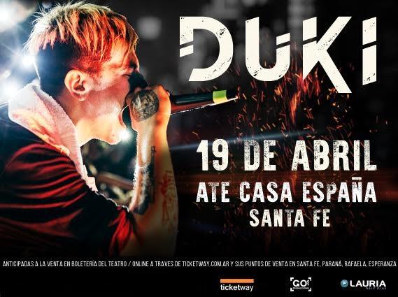 Duki: el fenómeno del rap llega a Santa Fe