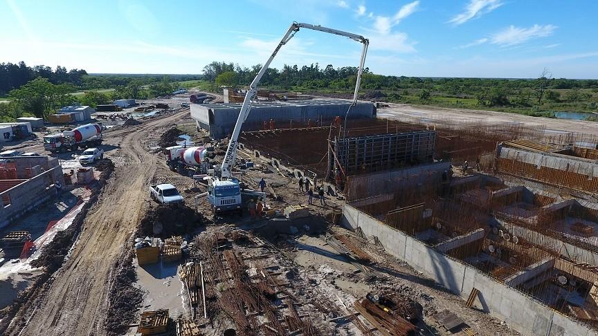 Avanza la construcción de las cinco etapas del Acueducto Reconquista