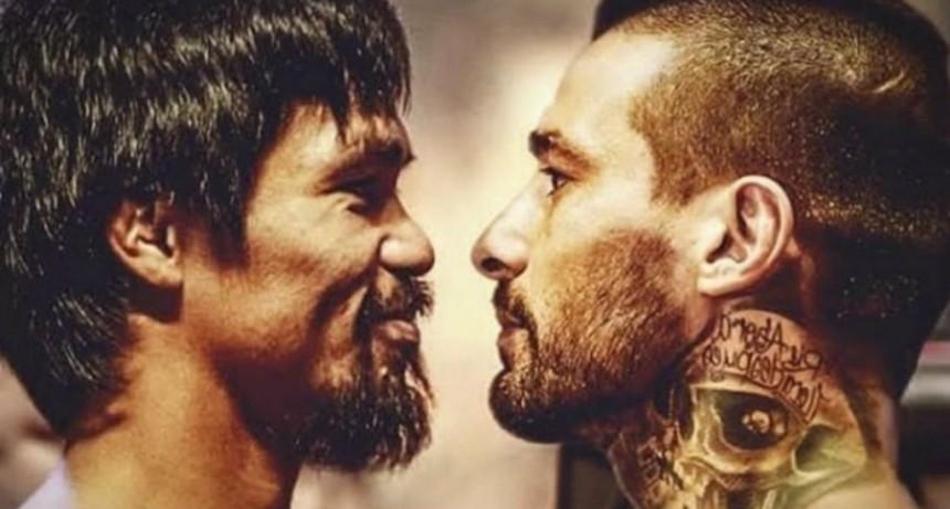 Matthysse peleará con Pacquiao horas antes de la final del Mundial