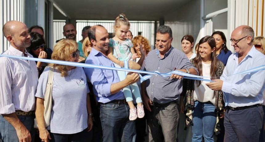Corral estuvo presente en la inauguración de la Casa de las Mascotas
