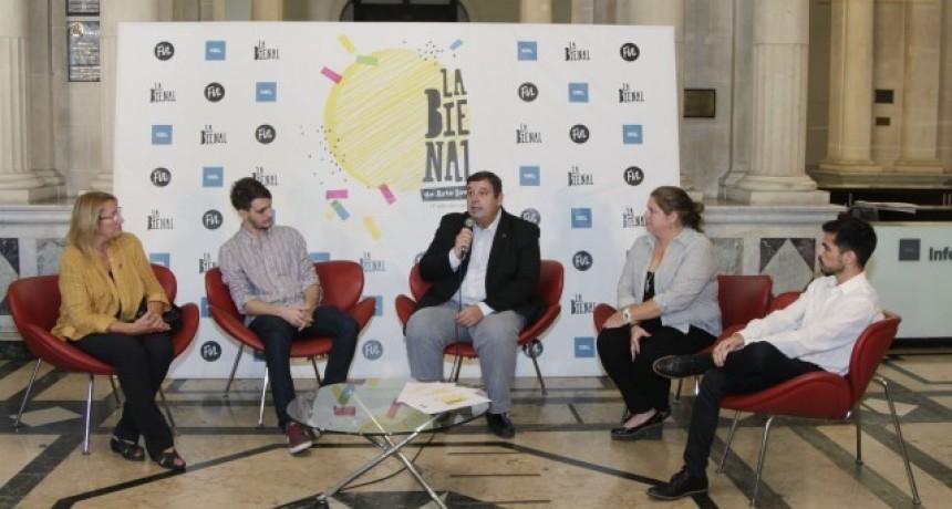 La UNL lanzó la Bienal de Arte Joven 2018