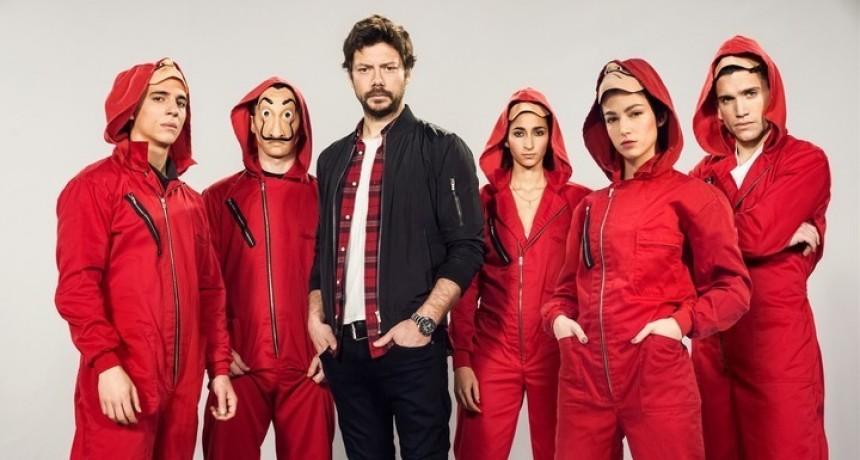 Los protagonistas de La Casa de Papel anunciaron la nueva temporada