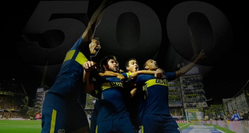 Boca cumplió 500 días como puntero