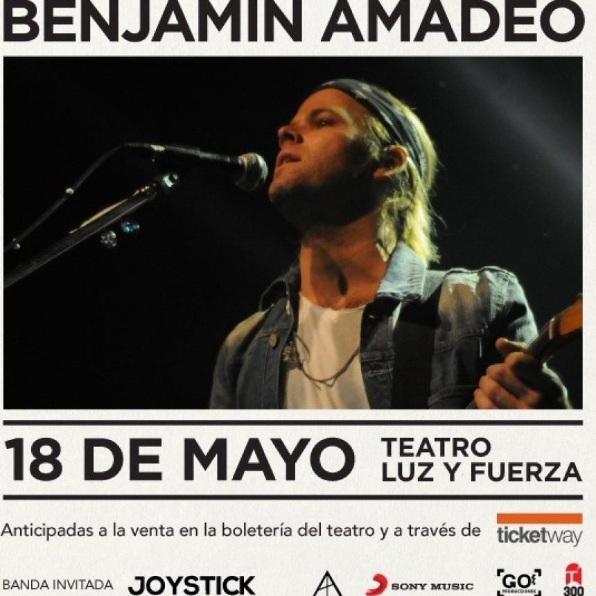 Benjamín Amadeo en Santa Fe