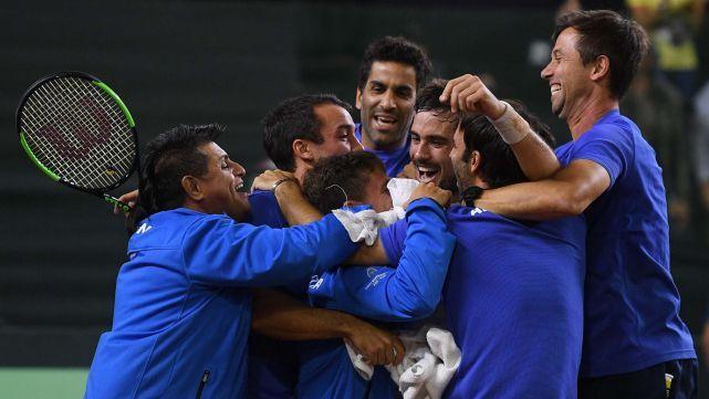 Argentina ya tiene rival para el Repechaje de Copa Davis