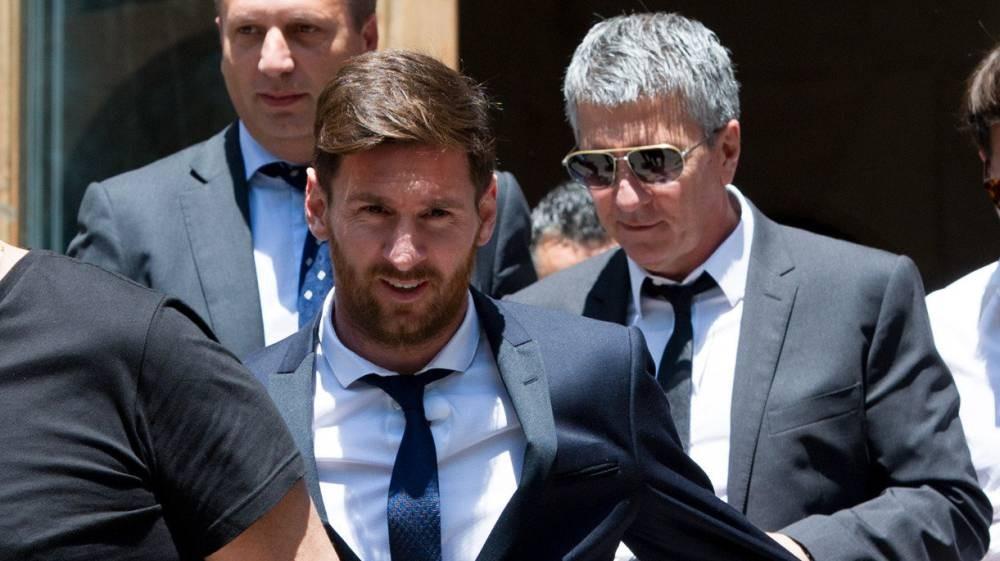 El padre de Lionel Messi atropelló a un motociclista