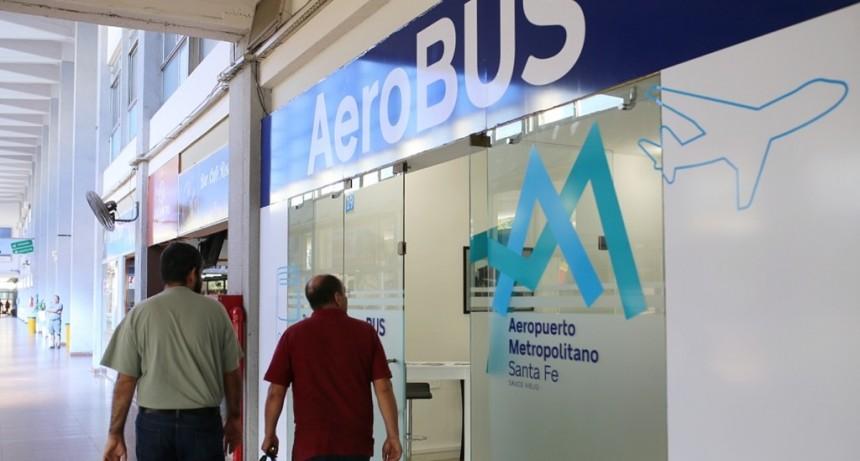 La Terminal de Ómnibus ya tiene sala de espera para el traslado al aeropuerto de Sauce Viejo