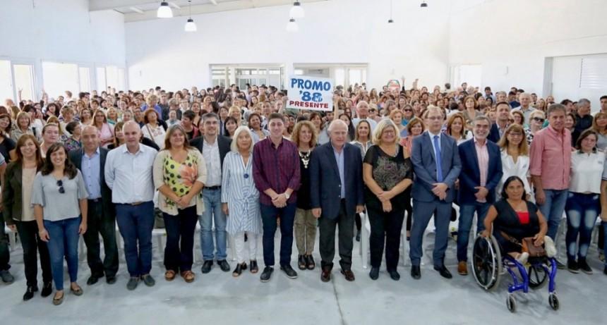 Se inauguró el nuevo edificio de la escuela 262 República Argentina