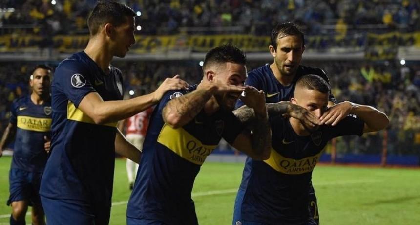 Boca goleó a Jorge Wilsterman