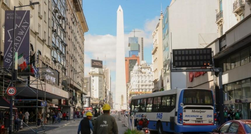La avenida Corrientes de Buenos Aires será peatonal por la noche
