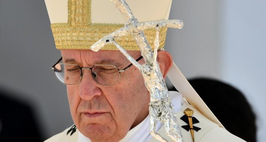 El Papa envió un mensaje tras la destrucción de Notre Dame