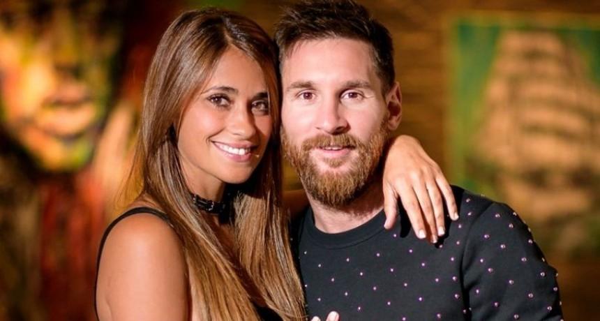 La tierna foto de Lionel Messi con Antonela Roccuzzo cuando eran chicos