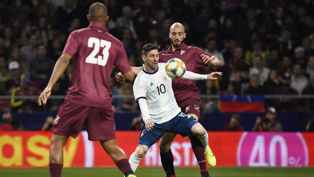 Scaloni y un mimo a Messi: Fue el primero en tirar para adelante