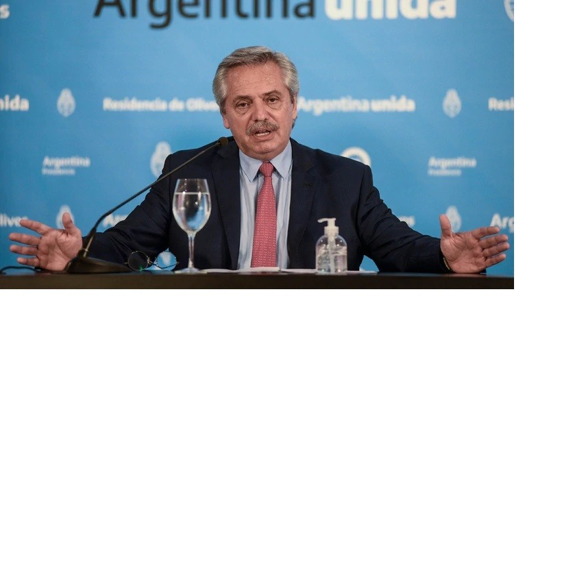 """Alberto Fernández, sobre la salida gradual de la cuarentena: """"Los chicos seguirán sin ir al colegio"""""""