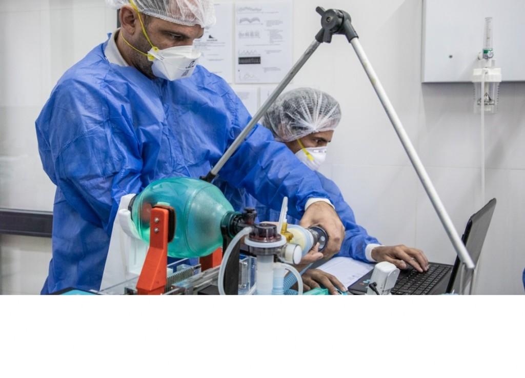 La provincia en conjunto con la UNRaf desarrollan un ciclador para soporte respiratorio