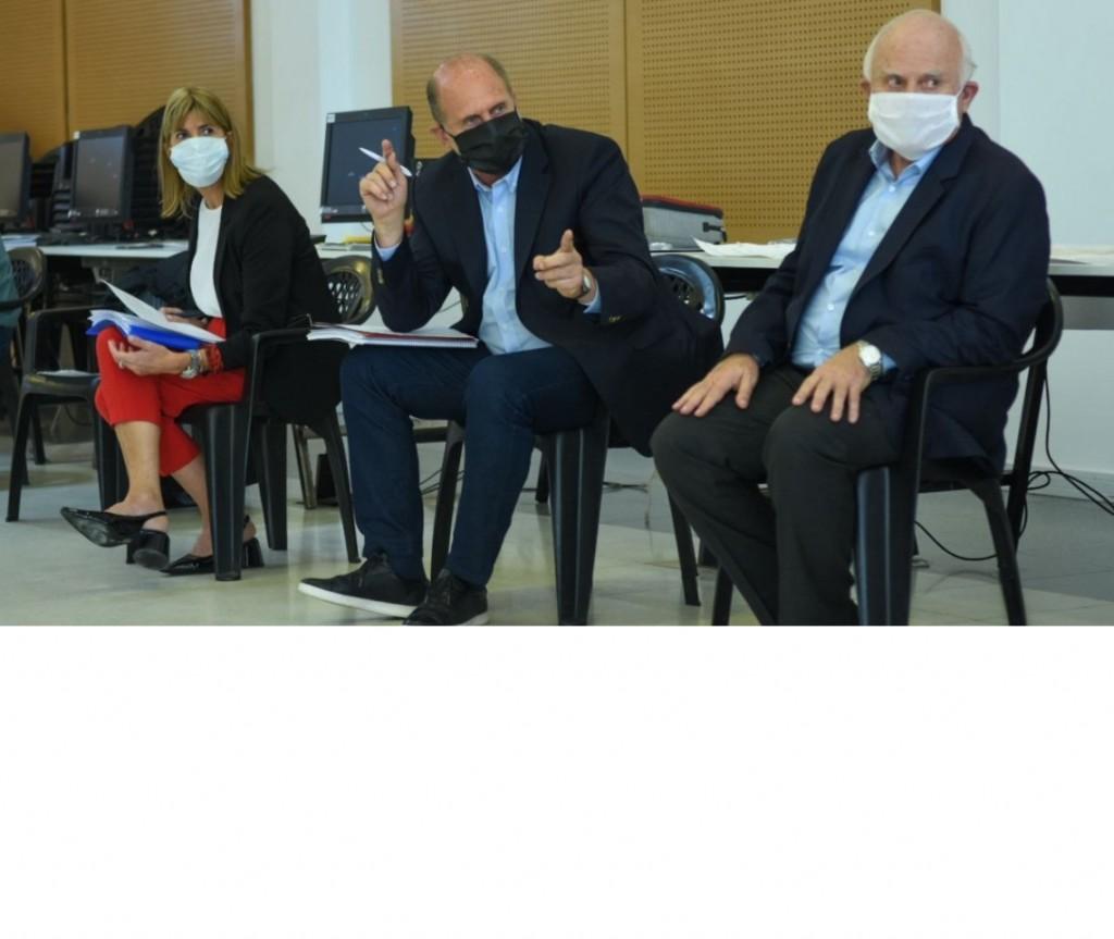 El gobernador presidió la reunión del Comité de Coordinación Provincial de la pandemia por COVID-19