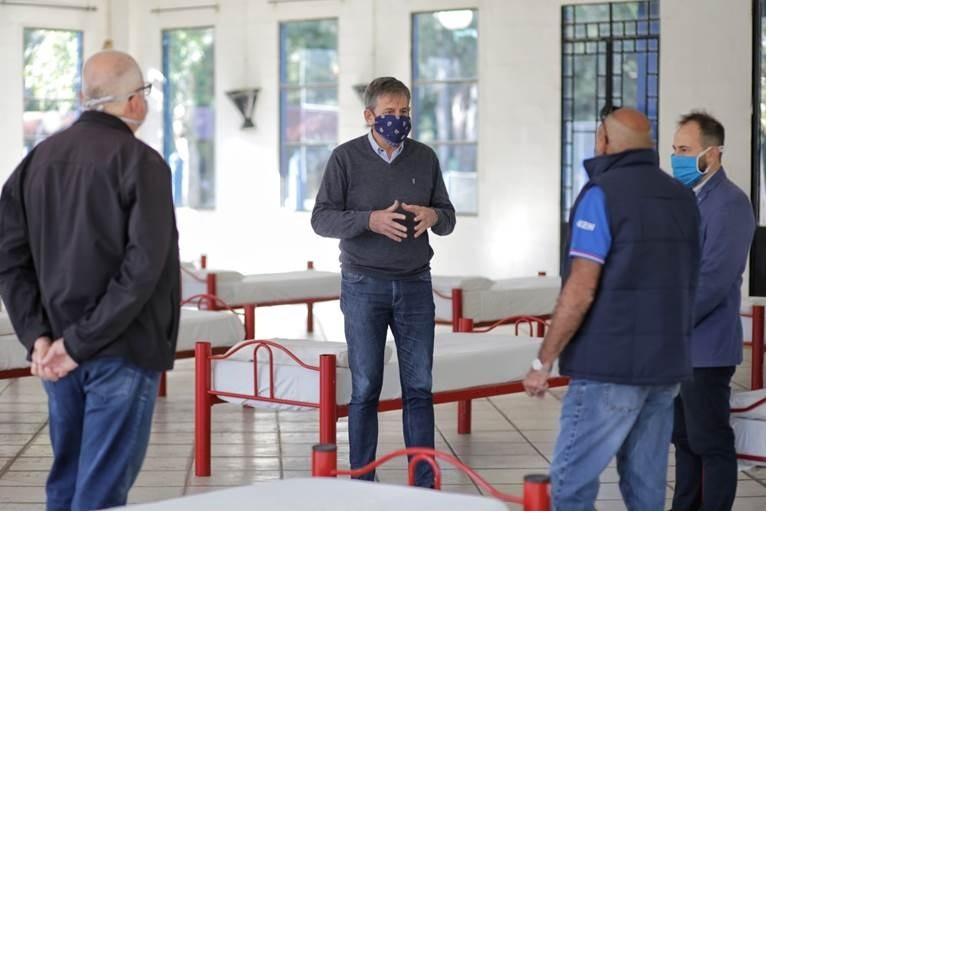 La Municipalidad ya tiene listo el primer centro para pacientes con coronavirus