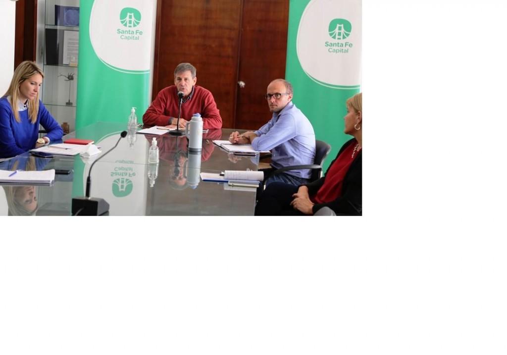 Jatón reunió nuevamente al Comité Municipal de Gestión de Riesgos