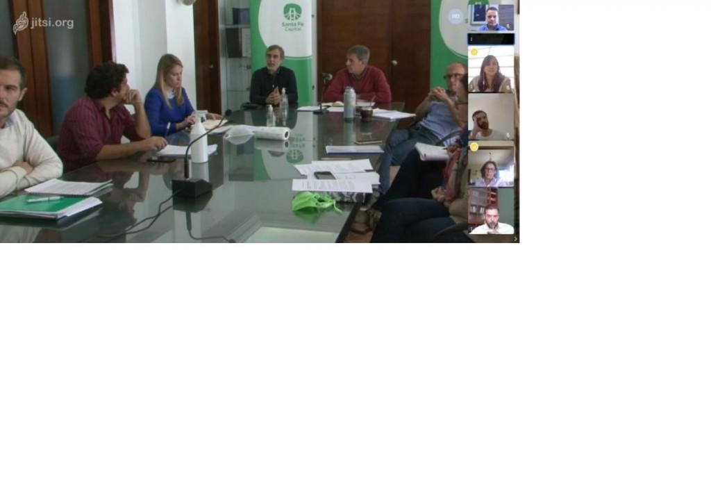 Comité de Gestión de Riesgo: nueva reunión entre concejales y el intendente