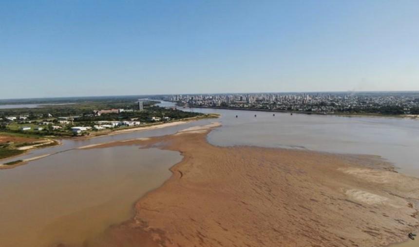 La provincia intensifica los controles por la bajante en el Río Paraná