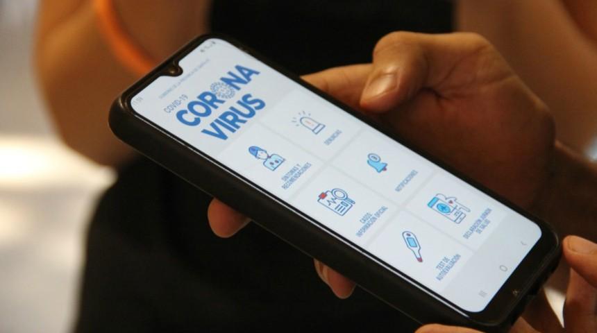 La provincia lanzó una aplicación móvil y un micrositio sobre coronavirus