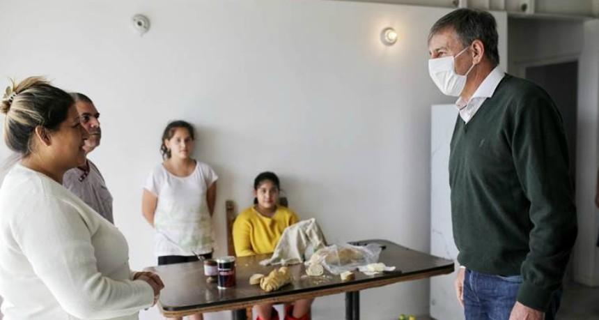 Final feliz para Barranquitas Oeste: se mudaron las 29 familias a sus casas propias
