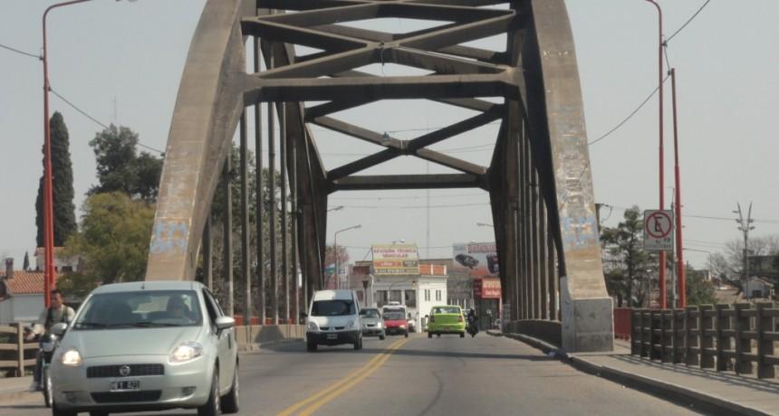Se retoman los trabajos en el Puente Carretero