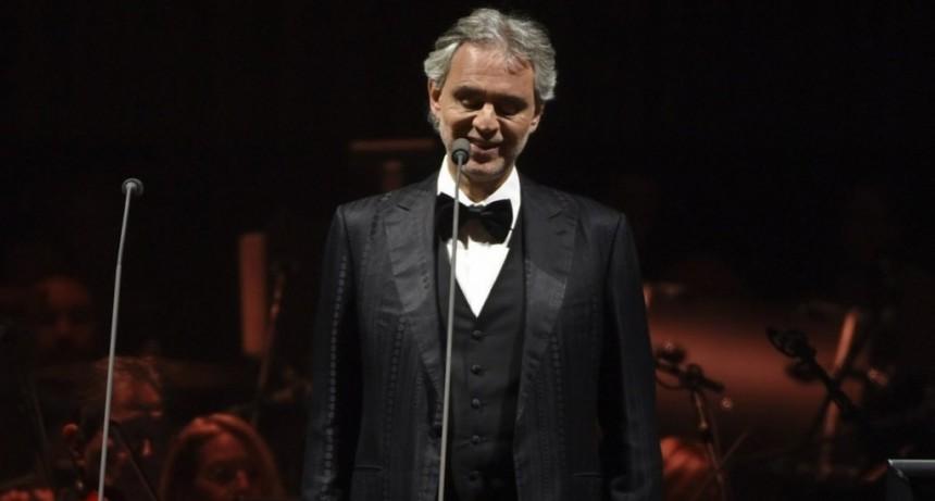 Andrea Bocelli dará un show online el domingo de Pascua