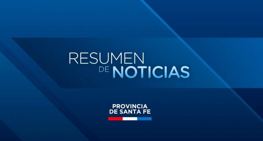 Resumen de las actividades del gobierno de la provincia de Santa Fe