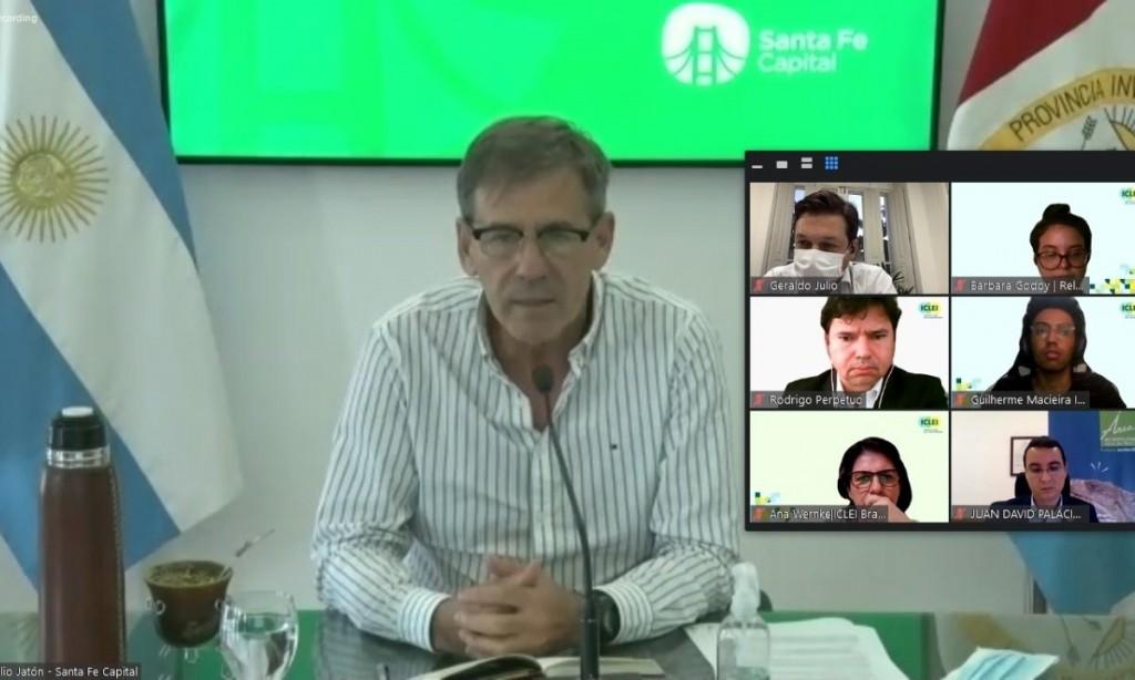 Santa Fe participó de la reunión del Comité Ejecutivo Regional de América del Sur de ICLEI