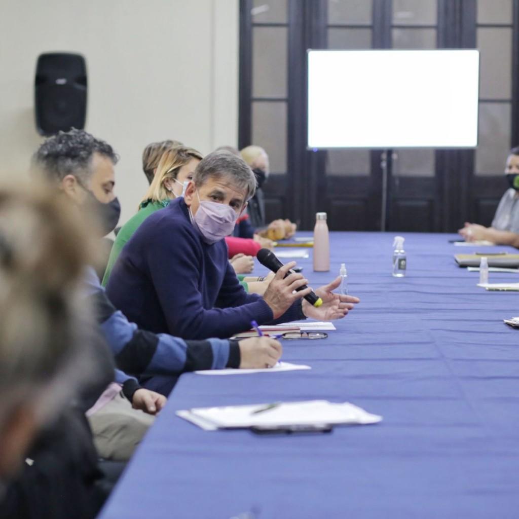 La Municipalidad y vecinalistas acordaron agenda para la reunión del Consejo de Seguridad