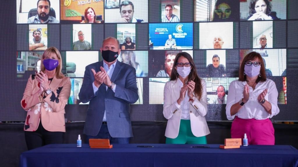 Perotti anunció la presentación del proyecto de ley para crear el Ministerio de Igualdad y Género