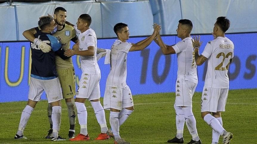 Por penales, Racing venció a San Martín (SJ) por la Copa Argentina