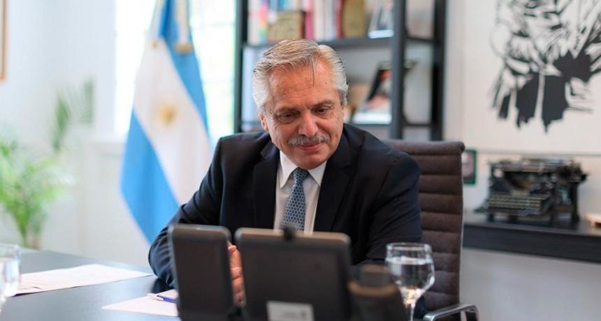 Alberto Fernández habló con Putin sobre el suministro de vacunas