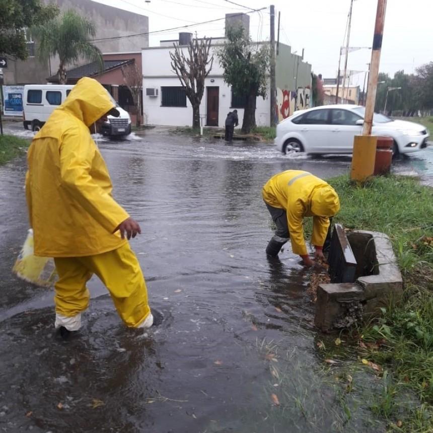 Informe de lluvias en la capital