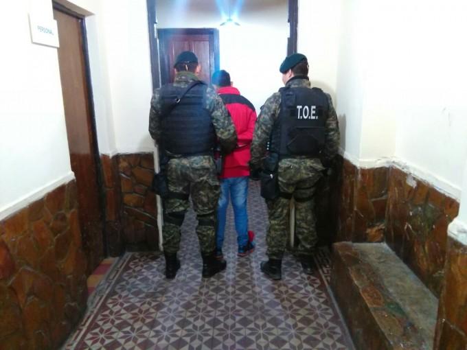 La TOE detuvo a un joven con pedido de captura