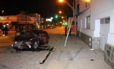 Choque fatal en Santo Tome