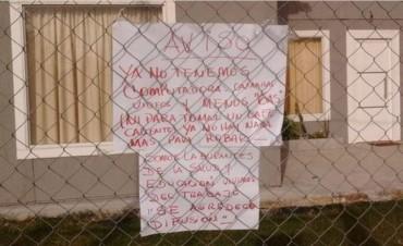 Cansados de los robos, les dejaron un cartel a los ladrones: