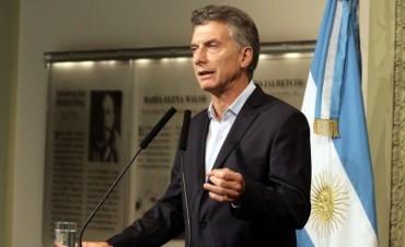"""""""La principal obsesión de nuestro gobierno es generar trabajo"""", afirmó Macri"""
