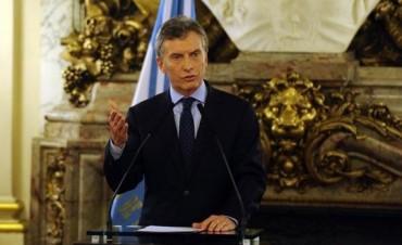 Macri dijo que vetó lo que denominó