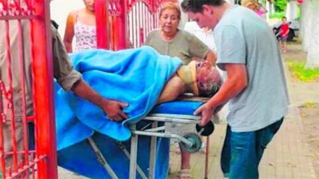 Murió el abuelo de Marco Ruben, luego de agonizar un mes al ser golpeado en un asalto