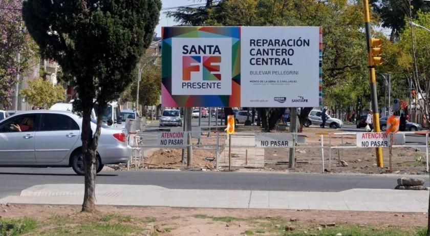 Entraría en su etapa final la reparación de Urquiza y Boulevard