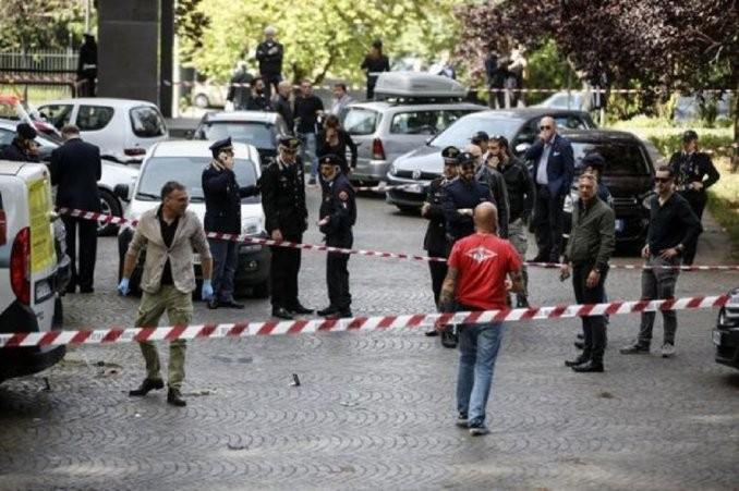 Explotó una bomba casera en el centro de Roma
