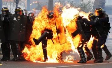 Graves incidentes en París durante la manifestación por el Día del Trabajador