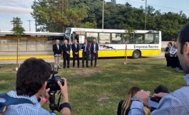 Mauricio Macri y José Corral inauguraron el Metrobus Santa Fe