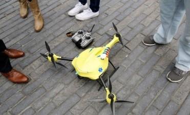 Pretenden instalar un sistema de drones ambulancia en Santa Fe