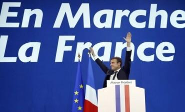 Emmanuel Macron fue electo presidente de Francia