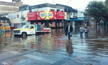 El temporal dejó 80 mm y algunos problemas en la ciudad