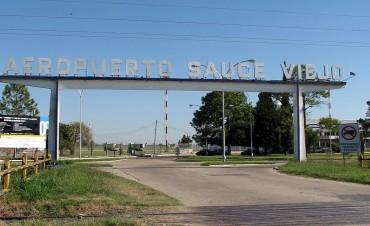 Avanzan las obras en el aeropuerto de Sauce Viejo